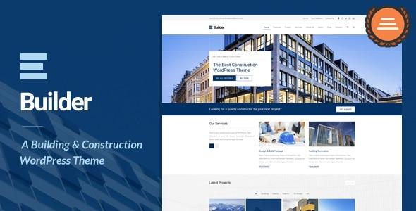 TM Builder主题英文版 WordPress 响应式 建筑施工主题【V1.6.2】