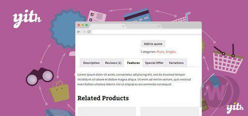 WordPress插件-YITH WooCommerce Tab Manager V1.2.13汉化版已更新