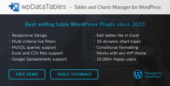 WordPress插件-WpDataTables V2.7.2汉化版已更新