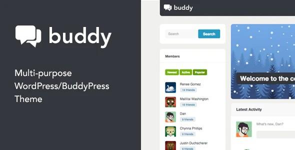 WordPress主题-Buddy V2.20.3汉化版已更新-倾尘SEO