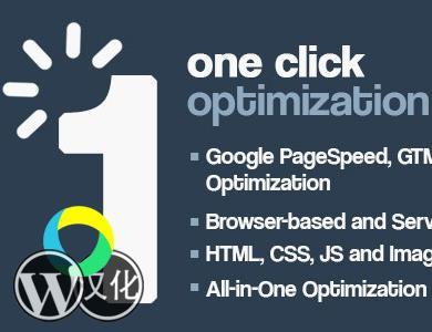 WordPress插件-一键优化-One Click Optimization汉化版【V2.0.4】